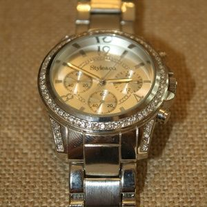 Woman's Style & Co  large face watch